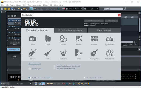 MAGIX Samplitude Music Studio 2022破解版