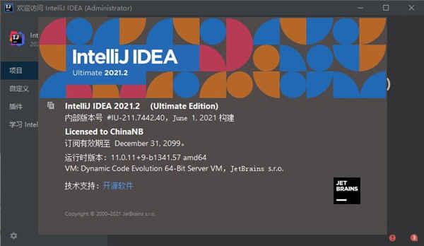 idea2021.2永久激活版