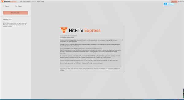 HitFilm Express 16中文破解版