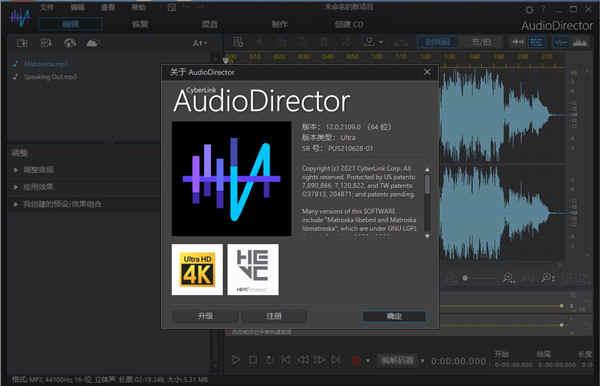 AudioDirector 12中文破解版